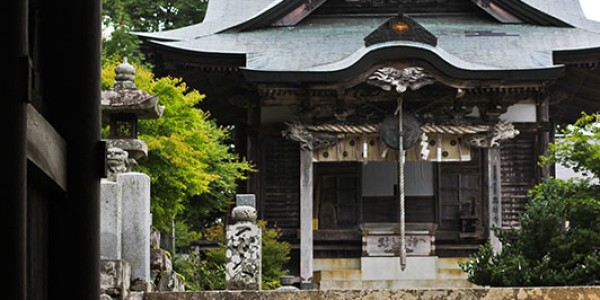 Temple on Mt. Kotsu