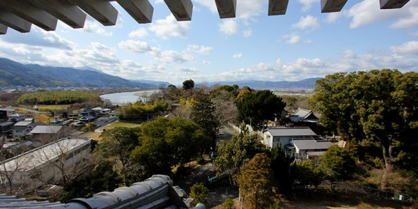 View from Kawashima Castle