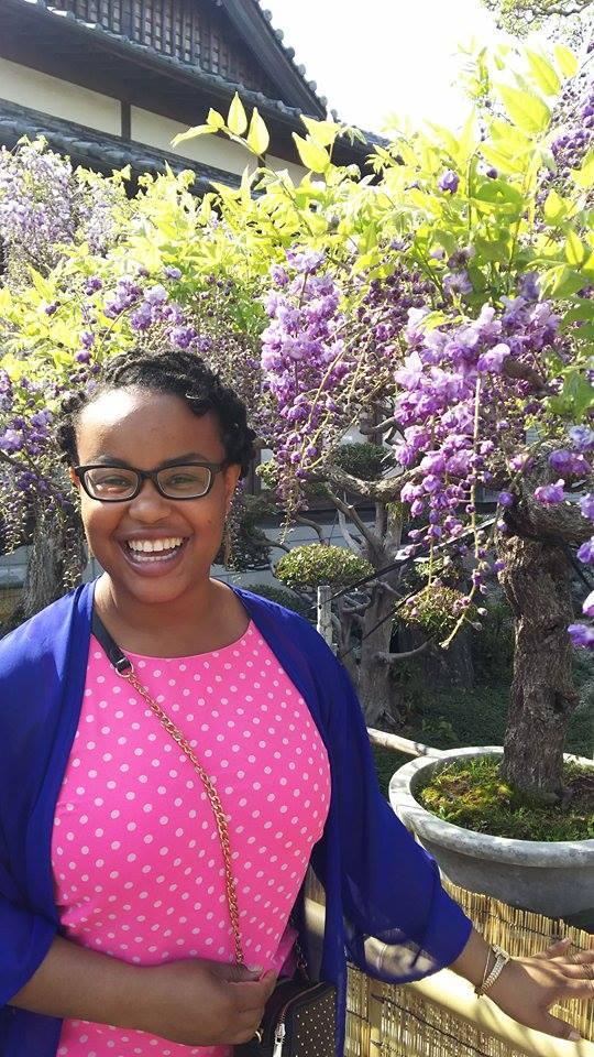 Danielle Yarbrough : 2nd Year JHS & ES ALT, Donari-cho