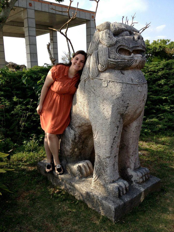 Danielle Gally : 5th year ES ALT, Komatsushima-shi