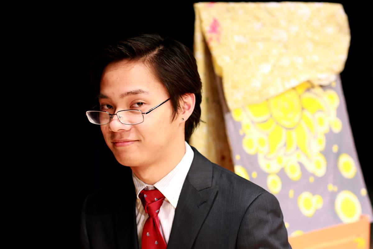 Carlo Sangalang : 2nd Year JHS & ES ALT, Mima-shi