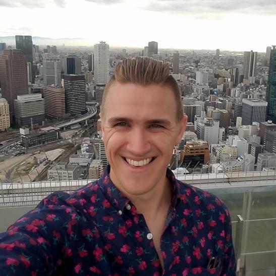 Adam Christenson : 2nd Year ES/JHS ALT, Miyoshi-shi